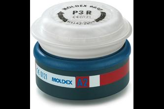 Moldex 9230 Voorgemonteerd filter A2 P3 R voor series 7000 en 9000 EasyLock 2 STUKS