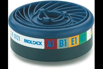 Moldex 9400 Gasfilter A1B1E1K1 voor series 7000 en 9000 EasyLock 2 STUKS