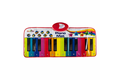 N-gear mini reuze piano mat 90 cm rainbow