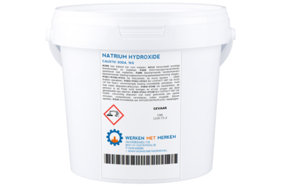NATRIUM HYDROXIDE / CAUSTIC SODA / ONTSTOPPER
