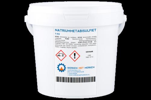 Natriummetabisulfiet ja, 1 kg, emmer