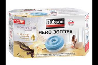 Rubson AERO 360 Navullingen 4x 450 GR, Vanille - comfort