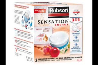 Rubson Navullingen Vochtopnemer Sensation 2x 300 gram – Fruit