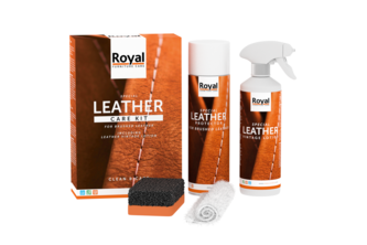 Oranje Furniture Care Leather Care Kit - Brushed Leather