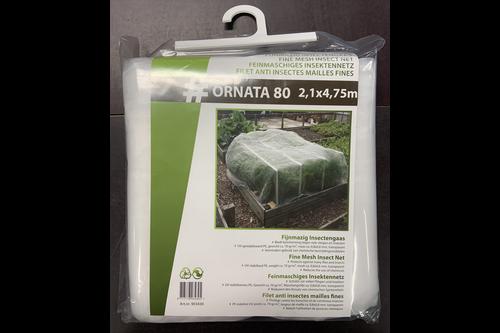 Hwtc ornata 80 fijnmazig insectengaas 2,1x4,75 m,  , maas 0,8x0,8 mm