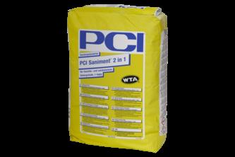 PCI Saniment 2 in 1 25 KG, Wit, ZAK