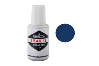 Kingston Emaille Reparatie Tip Hoogglans, 20 ML, PETROL BLAUW, S0603-R80B