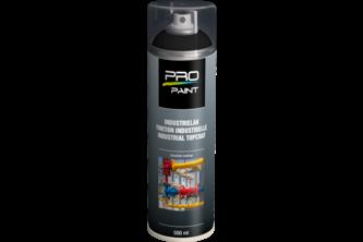 PRO-Paint Industrie Lak Deklaag 500 ML, DIEPZWART, 9005 MAT