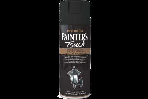 Rust-oleum painters touch mat, 400 ml, zwart, spuitbus