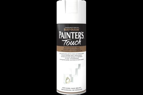 Rust-oleum painters touch hoogglans, 400 ml, wit, spuitbus