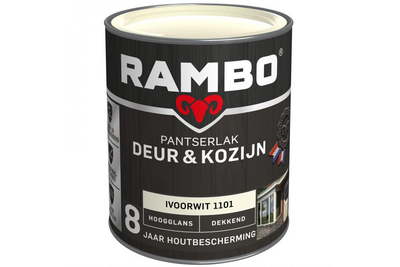 RAMBO Pantserlak Deur & Kozijn Hoogglans Dekkend