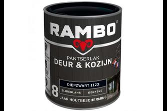 RAMBO Pantserlak Deur & Kozijn Zijdeglans Dekkend 750 ML, GRACHTENGROEN, 1128