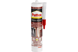 Pattex Oven & Openhaard Silicone