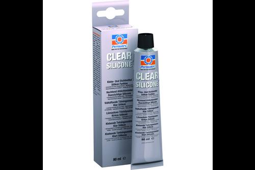 Permatex clear rtv silicone adhesive sealant 85 gr, transparant