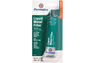 Permatex Liquid Metal Filler tube 99 GR, Zwart