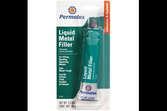 Permatex Liquid Metal Filler tube 99 GR, Zwart