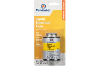 Permatex Liquid electrical tape 118 ML, Zwart