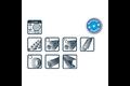 Pica markeerkrijt eco 591 12 stuks – 11x110mm, geel, box