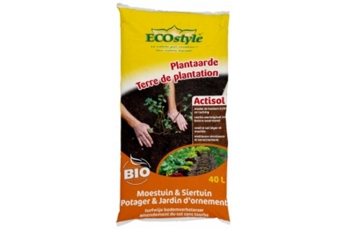 Ecostyle plantaarde actisol cocopeat 40 l
