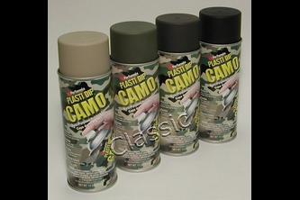 PlastiDip Spray Camo Mat 325 ML, Camo groen