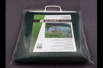 Hwtc Quadra schermgaas 1,5x3,2m,  , 100 gr./m², groen