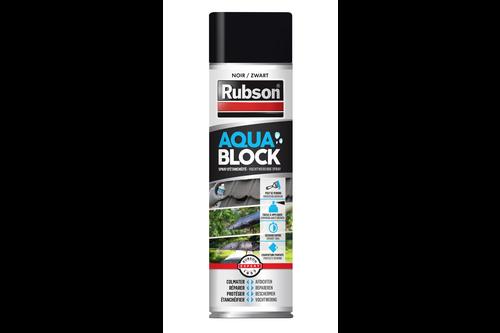 Rubson aquablock spray 300 ml – zwart, zwart