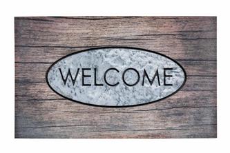 Hamat Buitenmat Residence Welcome Wood 45x75 45 x 75, -