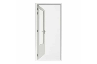 Hamstra Rolhor deur Plus 110x215 wit