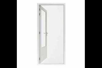 Hamstra Rolhor deur Plus 110x205 wit