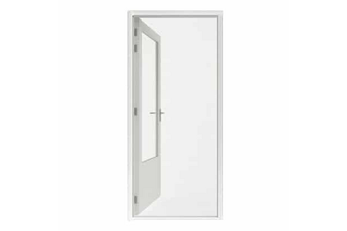 Hamstra rolhor deur plus 110x205 wit 110x205 wit