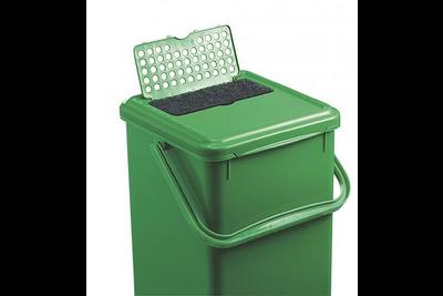 Rotho groenafvalemmer actief koolfilter zwart