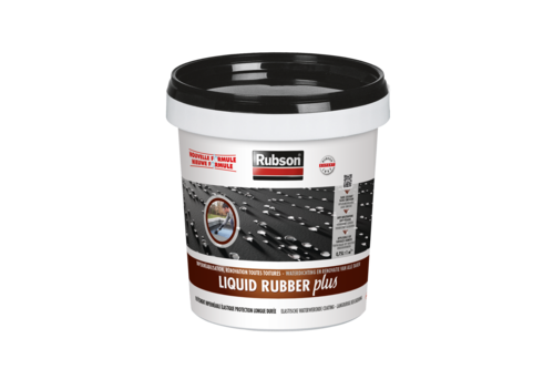 Rubson liquid rubber coating 750ml, zwart