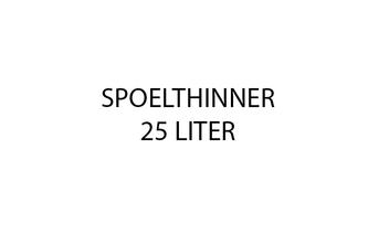 Bleko Spoelthinner 25 l, Can