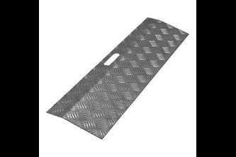 SecuCare Aluminium Drempelhulp fijnstructuur