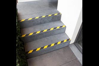 SecuCare Anti slip sticker Heavy Duty voor binnen & buiten - 1 Stuk, Zwart