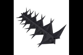 SecuMax Anti-Klimstrip Pro - 1 Stuk, Zwart, 50 x 500