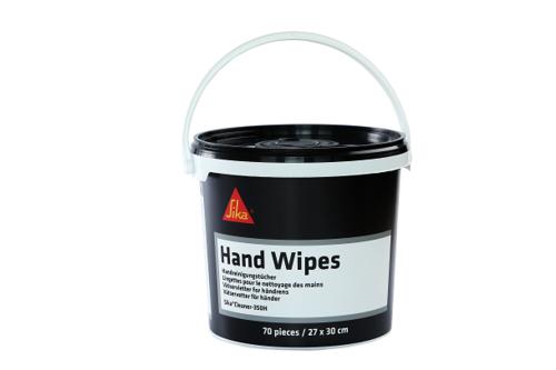 Sika hand cleaner 350 h 70 tissues, , emmer