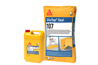 SikaTop Seal 107 Standard Kelderdichting 25 KG, set