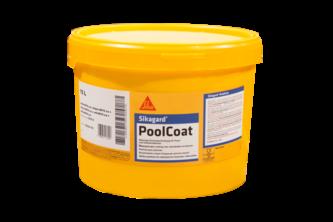 Sikagard 140 Pool Zwembadcoating 10 L, Adriablauw, EMMER