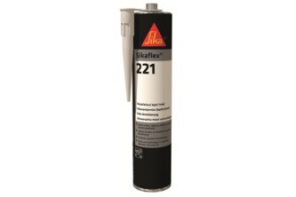 Sikaflex 221 300 ML, Bruin, PATROON