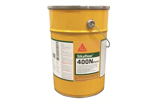 Sikafloor 400 n elastic 6 kg, ral 7037, blik