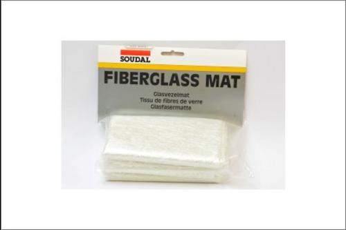 Soudal fiberglass mat 1 m2 - uitverkoopartikel 1 m2, -