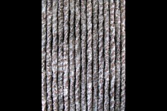 Sun-Arts Kattenstaart 100x230cm Grijs - bruin - wit gemeleerd