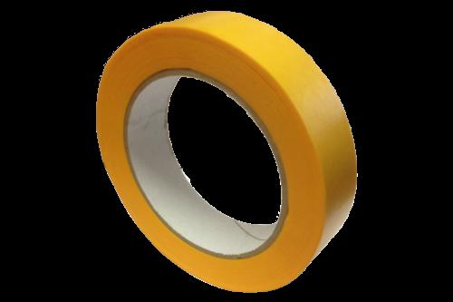Wwm tapes afplakband oranje 25mm x 50m, oranje