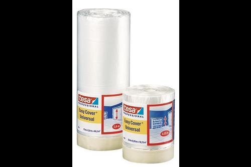 Tesa professional easy cover universeel 2-in-1 2600 mm x 17 meter, creme