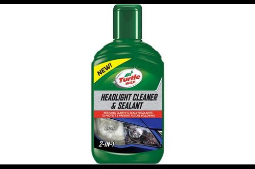 Turtle wax headlight cleaner & sealant 300 ml