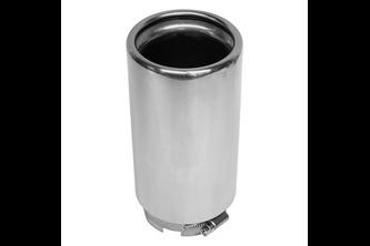 Carpoint Uitlaatsierstuk Inox 55-66mm