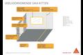 Sikaflex 11 fc 300 ml, betongrijs, patroon