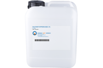 Waterstofperoxide 3%, 5 L