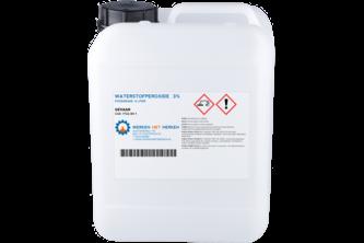Waterstofperoxide Foodgrade 3%, 5 L
